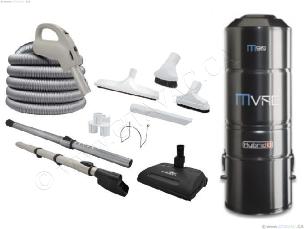 All-In-One Central Vacuum System Package