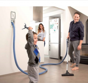 Hide-A-Hose retractable hose system