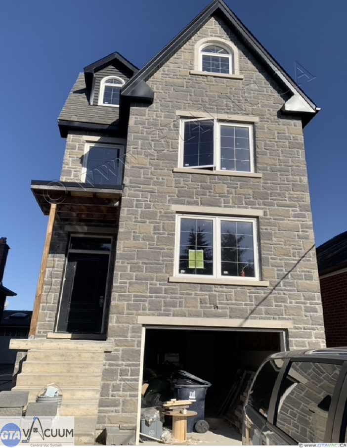 Central Vac New Construction North York Toronto 2019 GTA Vacuum Recent Project Gallery 1