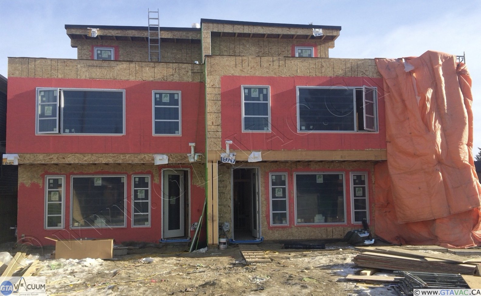 Central Vac New Construction Rough In Calgary SW AB 2014 1