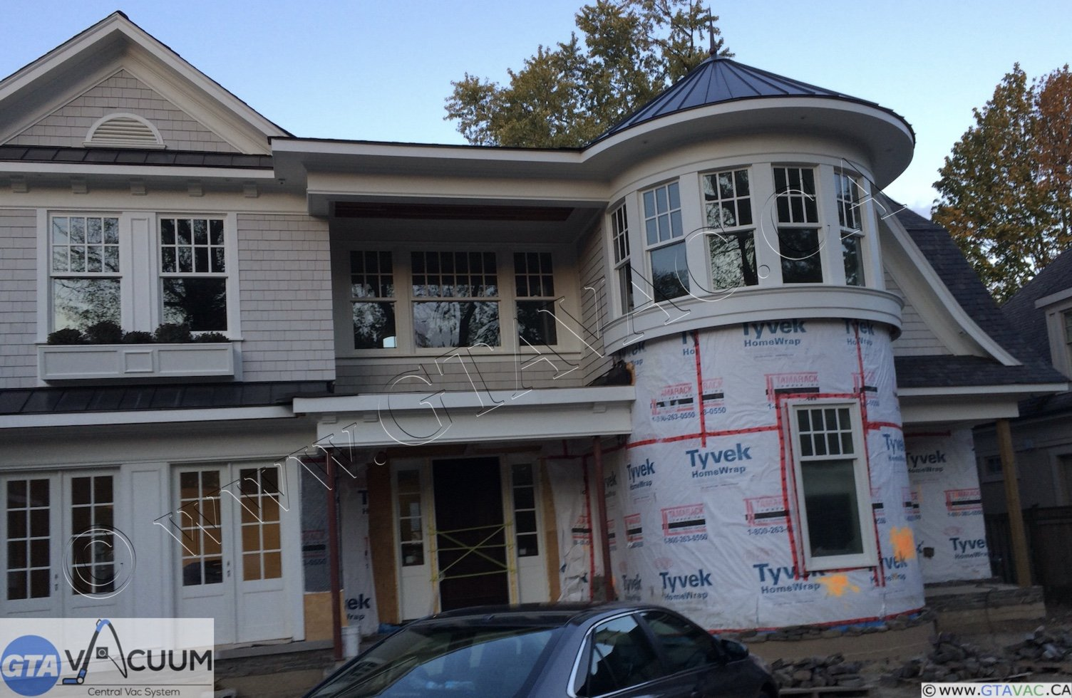 Central Vac New Construction Rough In Oakville ON 1