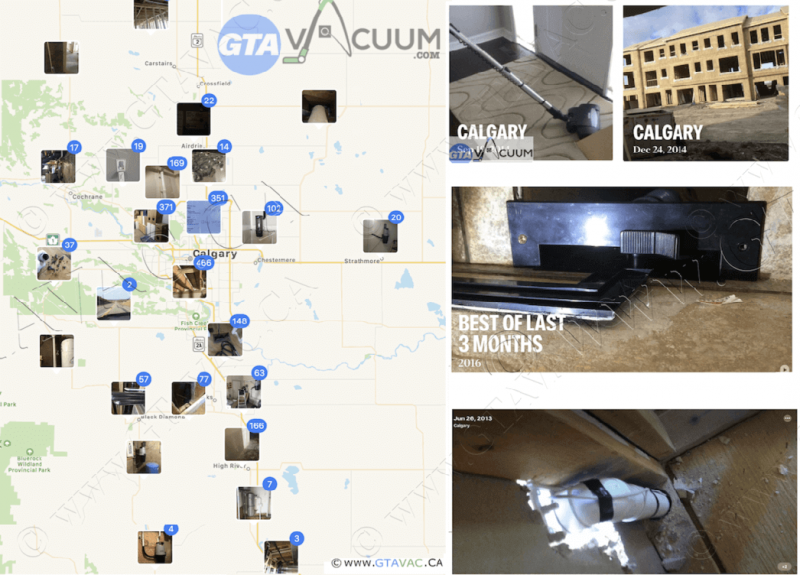 Central Vacuum Installation and Rough-In in Calgary & Area